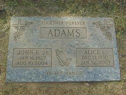 Alice L. <i>Birmingham</i> Adams
