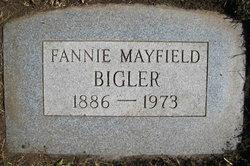 Fannie Elizabeth <i>Wortley</i> Bigler