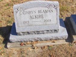 Mary Cathryn <i>Beaman</i> Alkire