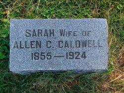 Sarah <i>Mills</i> Caldwell