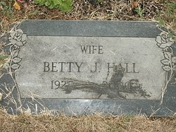 Betty J. <i>Schiebe</i> Hall