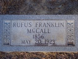 Rufus Franklin Mccall