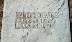 Alice <i>Manning</i> Davis