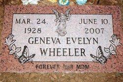 Geneva Evelyn <i>McDaniel</i> Wheeler