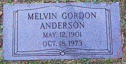 Melvin Gordon Anderson