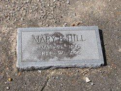 Mary Bradley <i>Watson</i> Hill