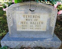 Elverda Quitman Verda <i>Cooper</i> Ballew