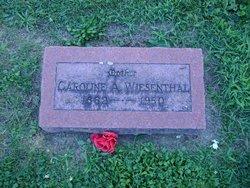 Caroline A Wiesenthal