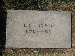 Elsie Anetta <i>Stemple</i> Bonham