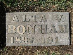 Alta Vivian Bonham