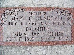 Mary Catherine <i>Parish</i> Crandall
