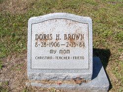 Doris H Brown