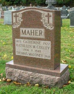 Kathleen Kit <i>Maher</i> Colley