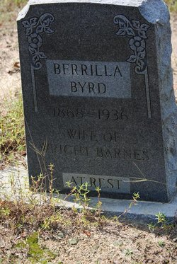 Berilla <i>Byrd</i> Barnes
