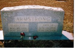 Mrs Amie <i>Rice</i> Armstrong