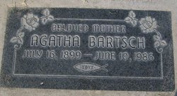 Agatha <i>Ewert</i> Bartsch