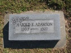 Harold E. Adamson