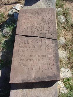 Fetnah S <i>Bull</i> Alexander