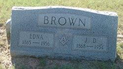 Edna D. <i>Hale</i> Brown