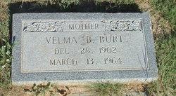 Velma B Burt