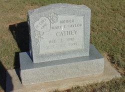 Mary E <i>Taylor</i> Cathey