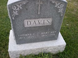 Thomas J Davis