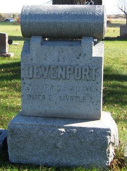 Ada Ellen <i>Tanner</i> Devenport