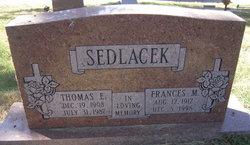 Frances M Sedlacek