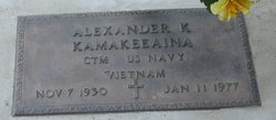 Alexander K. Kamakeeaina
