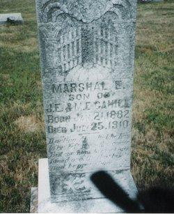 Marshal Everett Cahill