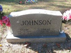Sarah Virginia <i>Lemaster</i> Johnson