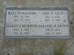 Lois Paula <i>Whitaker</i> Lilly