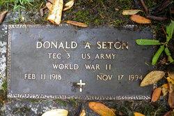 Donald A Seton