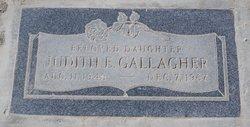 Judith E. Gallagher
