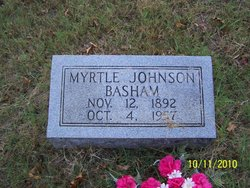 Myrtle <i>Johnson</i> Basham