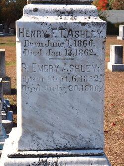 Henry F T Ashley