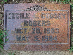 Cecile L <i>Godsey</i> Rogers