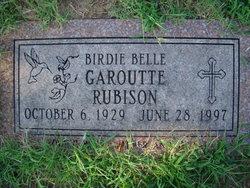 Birdie Belle <i>Stephens</i> Rubison
