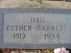 Esther Barrett