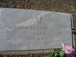 Vernon Edward Barrett