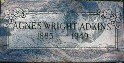 Agnes <i>Wright</i> Adkins