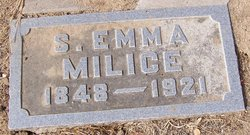 S. Emma <i>Flack</i> Milice