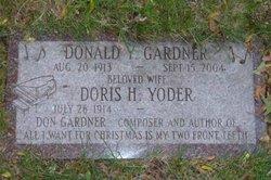Donald Yetter Gardner