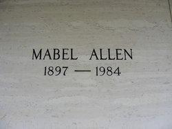 Annie Mabel <i>Hensley</i> Allen