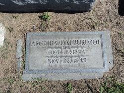 Archibald McDowell Burfoot