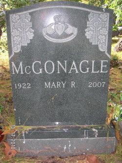 Mary R. <i>O'Connor</i> McGonagle