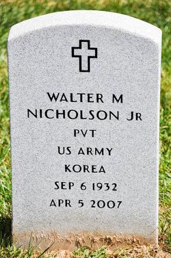 Walter Matthew Nicholson, Jr