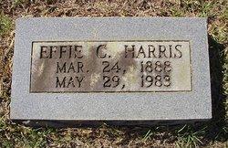 Effie C <i>Carroll</i> Harris