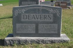 Willie Lee Deavers