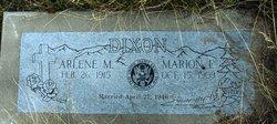 Marion E Dixon